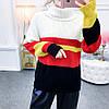 Теплый женский свитер-гольф 44-48 (в расцветках), фото 3