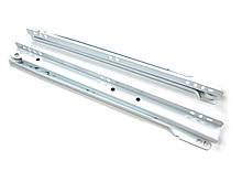 Направляющая роликовая белая (0,8 мм) L-450 мм STE-450