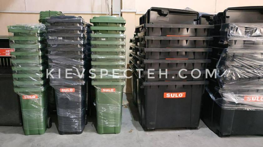 Контейнер для мусора объем  120 - 1100 л, Sulo, фото 2
