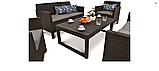 Набор садовой мебели Orlando Fiesta Lyon Set из искусственного ротанга, фото 7