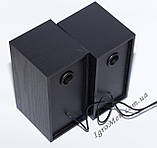 ЮСБ колонки для комп'ютера, ноутбука (FT101, черн), фото 5