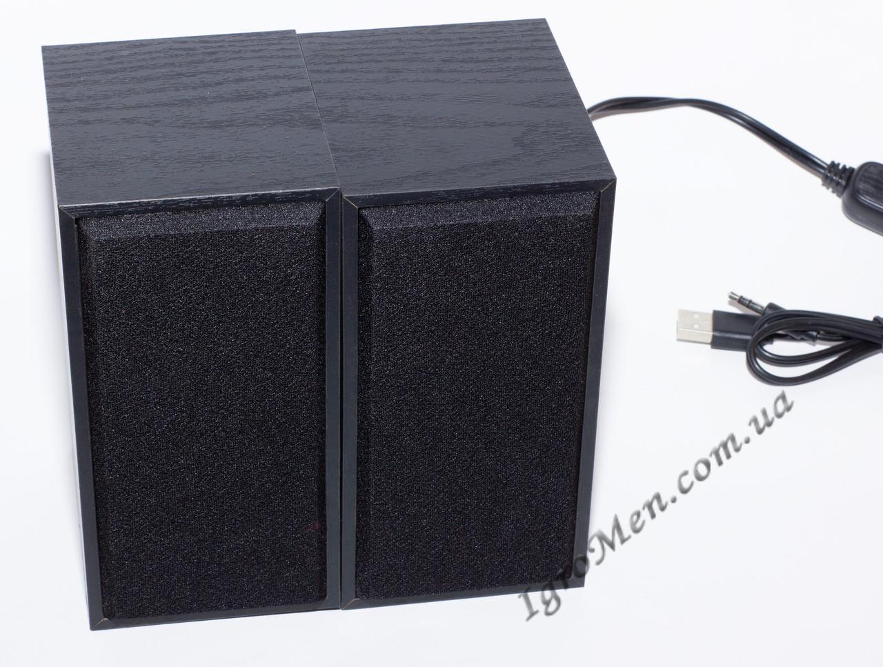 ЮСБ колонки для комп'ютера, ноутбука (FT101, черн)