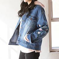 Джинсовая женская курточка AL-8607-50