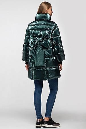 Зимняя женская куртка KTL-283 из новой коллекции KATTALEYA #16 изумрудный велюр, фото 2