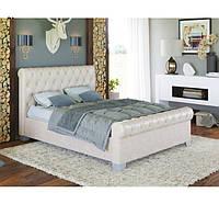 Кровать с мягким изголовьем Флоренсия 160 (ТМ Городок мебель) 1740х1250х2330мм