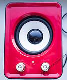 ЮСБ колонки 3.1 для компьютера, ноутбука (HS999, красный), фото 3