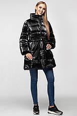 Зимняя женская куртка KTL-283 из новой коллекции KATTALEYA # черный велюр, фото 3