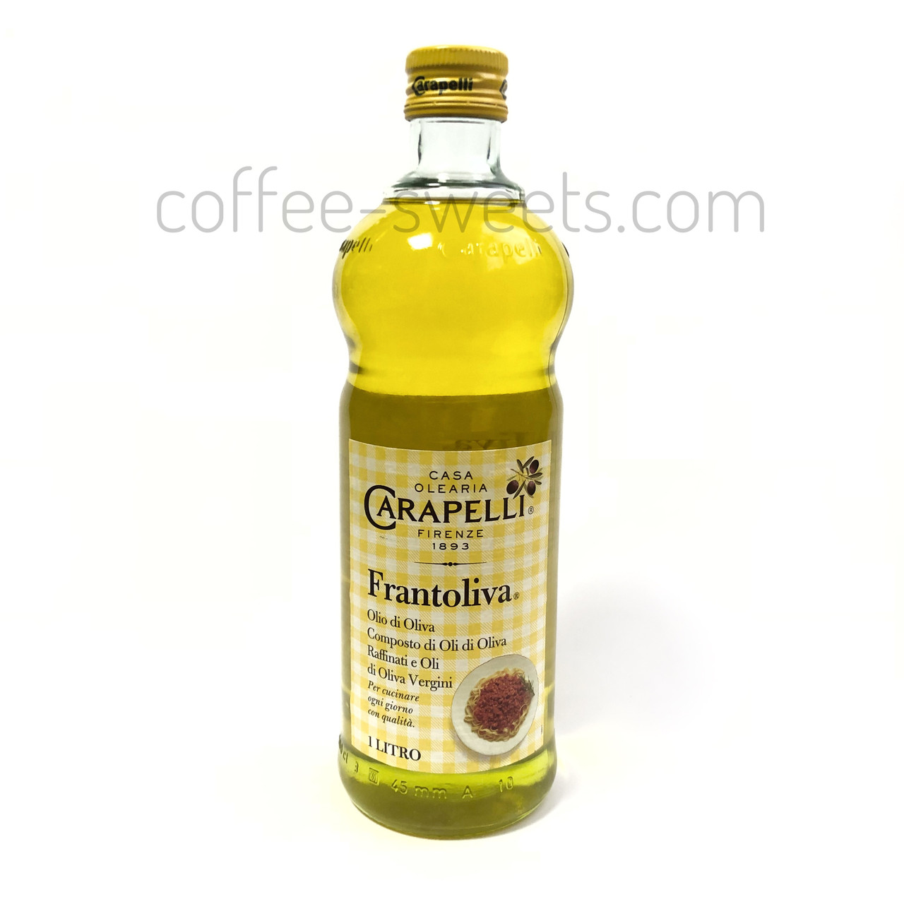 Масло оливковое масло Carapelli Frantoliva 1л
