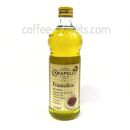 Масло оливковое масло Carapelli Frantoliva 1л, фото 2