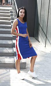 Платье No brand Женское Марсель синее S S #L/A
