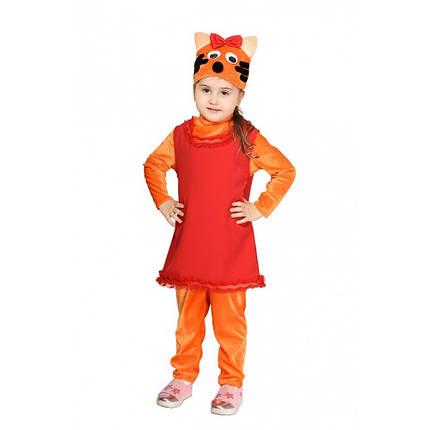 """Детский карнавальный костюм """"Кошечка Карамелька"""" для девочки, фото 2"""