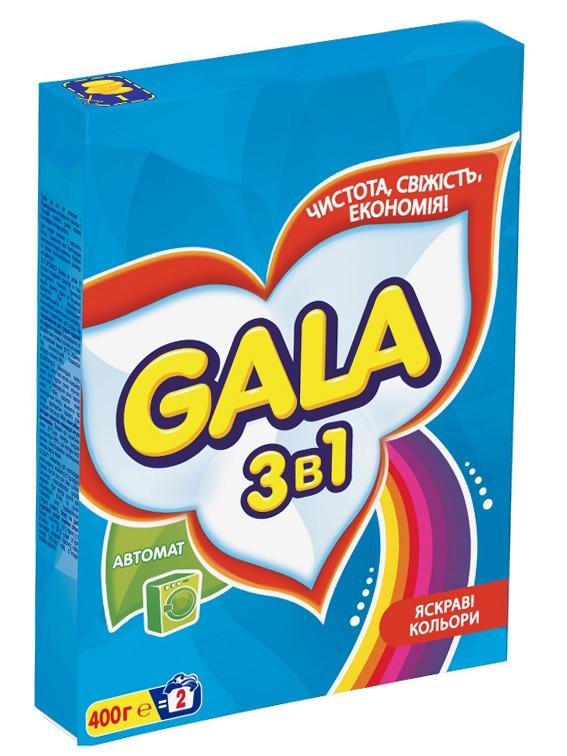 Порошок для автоматической стирки GALA для цветного белья (400 г)