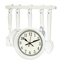 """Часы на кухню """"Ложки, поварежки"""" (33*34*4 см.)"""