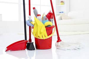 Прибиральне обладнання та інвентар