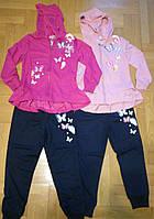 Трикотажный костюм 2 в 1 для девочек, Graсe, 110/116 см,   № G80660, фото 1
