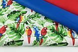"""Лоскут ткани """"Попугаи на ветке"""" №1400, размер 31*78 см, фото 7"""
