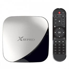 ТВ-приставка X88 Pro (4/32 Gb) 4-ядерная на Android 9.0, фото 2