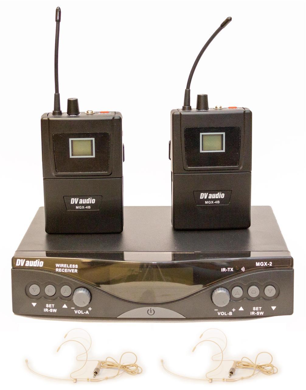 Радиосистема DV audio MGX-24B с гарнитурами