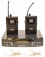 Радиосистема DV audio MGX-24B с гарнитурами, фото 1