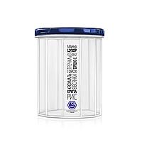 Ємність для сипучих продуктів 1,5л з синьою кришкою (арт. 84и), фото 1