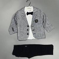Крутий костюм трійка для хлопчиків Akira Туреччина оптом, фото 1