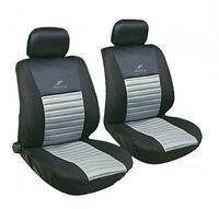 Чехлы авто сидений передние черно-серые Tango Milex Польша