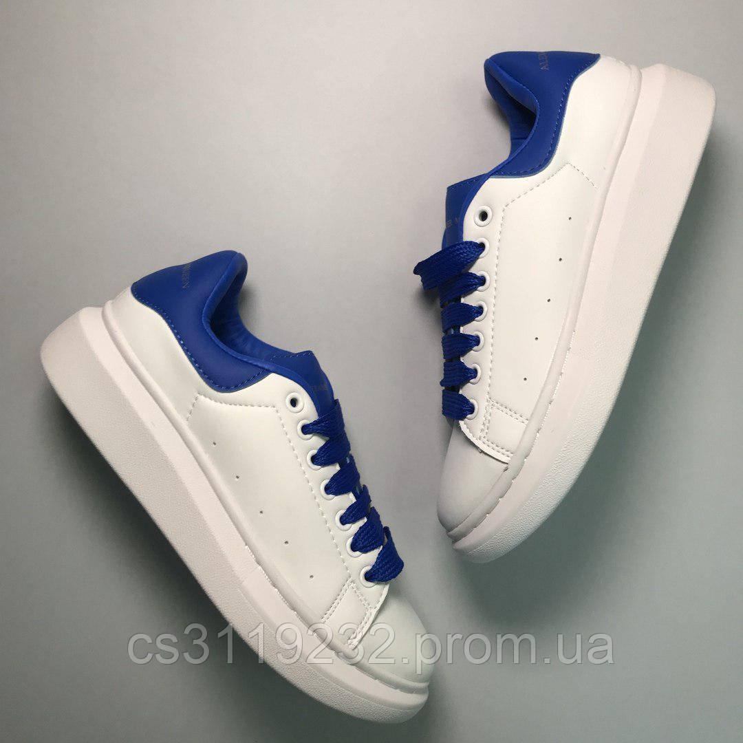Женские кроссовки Alexander McQueen (белые)