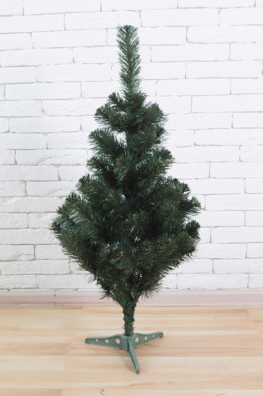 Искусственная елка 100 см Зеленая (ПВХ)
