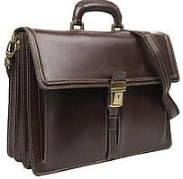 Мужской портфель из кожи TOMSKOR 81576