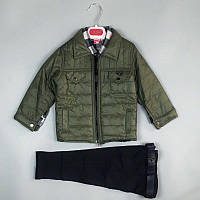 Костюм трійка з курткою для хлопчиків 5-9 р. Туреччина оптом, фото 1