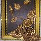 """Картина из натуральной кожи ручной работы  """"Розы Золото Ковка"""", фото 2"""