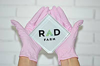 Нитриловые перчатки розовые без пудры 3.6 г/м² (100шт/уп) SafeTouch® Extend Pink