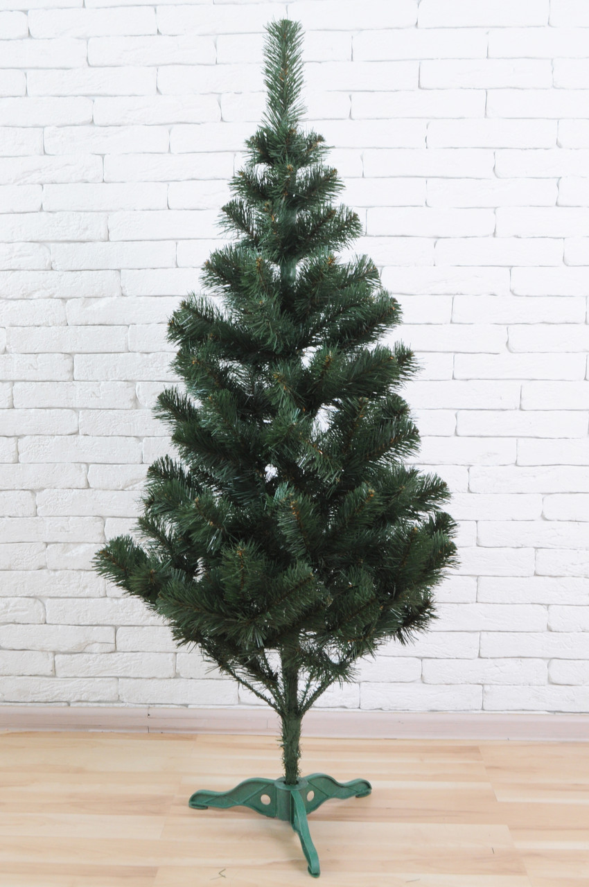 Искусственная елка 150 см Зеленая (ПВХ)