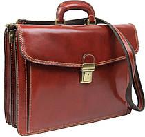 Портфель кожаный мужской TOMSKOR 81577