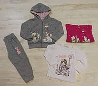 Трикотажный костюм 3 в 1 для девочек, Crossfire, 36 мес.,  № CF-178, фото 1