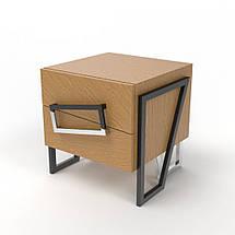 Комплект дизайнерский рабочий стол+ тумба  Angle OAK ТМ Esense, фото 3