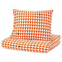 IKEA STILLSAMT Комплект постельного белья 150x200/50x60 cm (103.586.59), фото 1