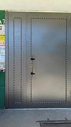 Двери в подъезд без утепления с кодовым замком