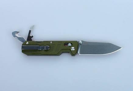 Ніж складний Ganzo G735-GR зелений, фото 2