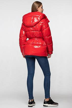 Зимняя женская куртка KTL-351 красная, фото 2