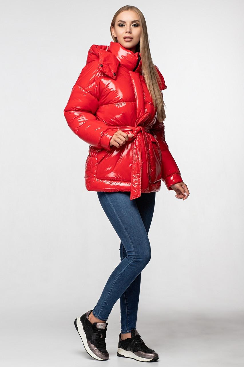 Зимняя женская куртка KTL-351 красная