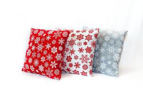 Новогодние подушки декоративные