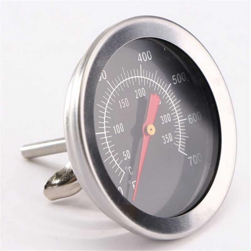 Термометр для приготовления барбекю блюд из нержавеющей стали от 0°c до ~350°c (100°F - 700°F) GRILLI 77755