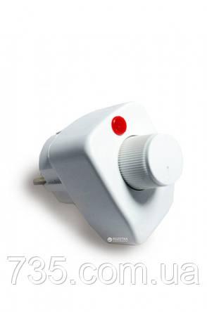 Полотенцесушитель Флюгер-3  поворотный с терморегулятором (белый), фото 2