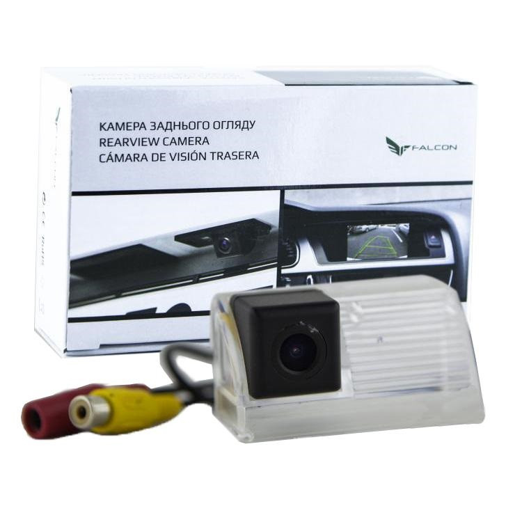 Штатная камера заднего вида Falcon SC109-XCCD. Toyota Auris 2007-2014/Avensis 2008+