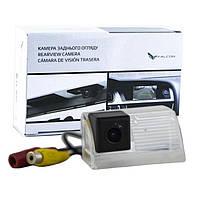 Штатная камера заднего вида Falcon SC109-XCCD. Toyota Auris 2007-2014/Avensis 2008+, фото 1