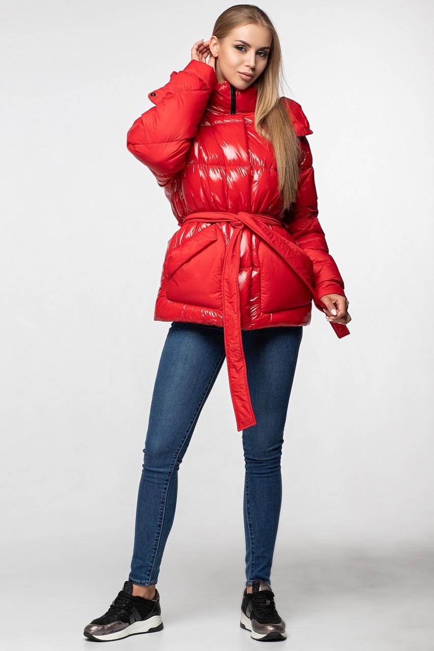 Женская зимняя куртка KTL-352 красная