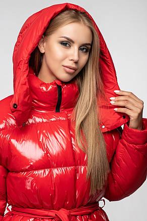 Женская зимняя куртка KTL-352 красная, фото 2