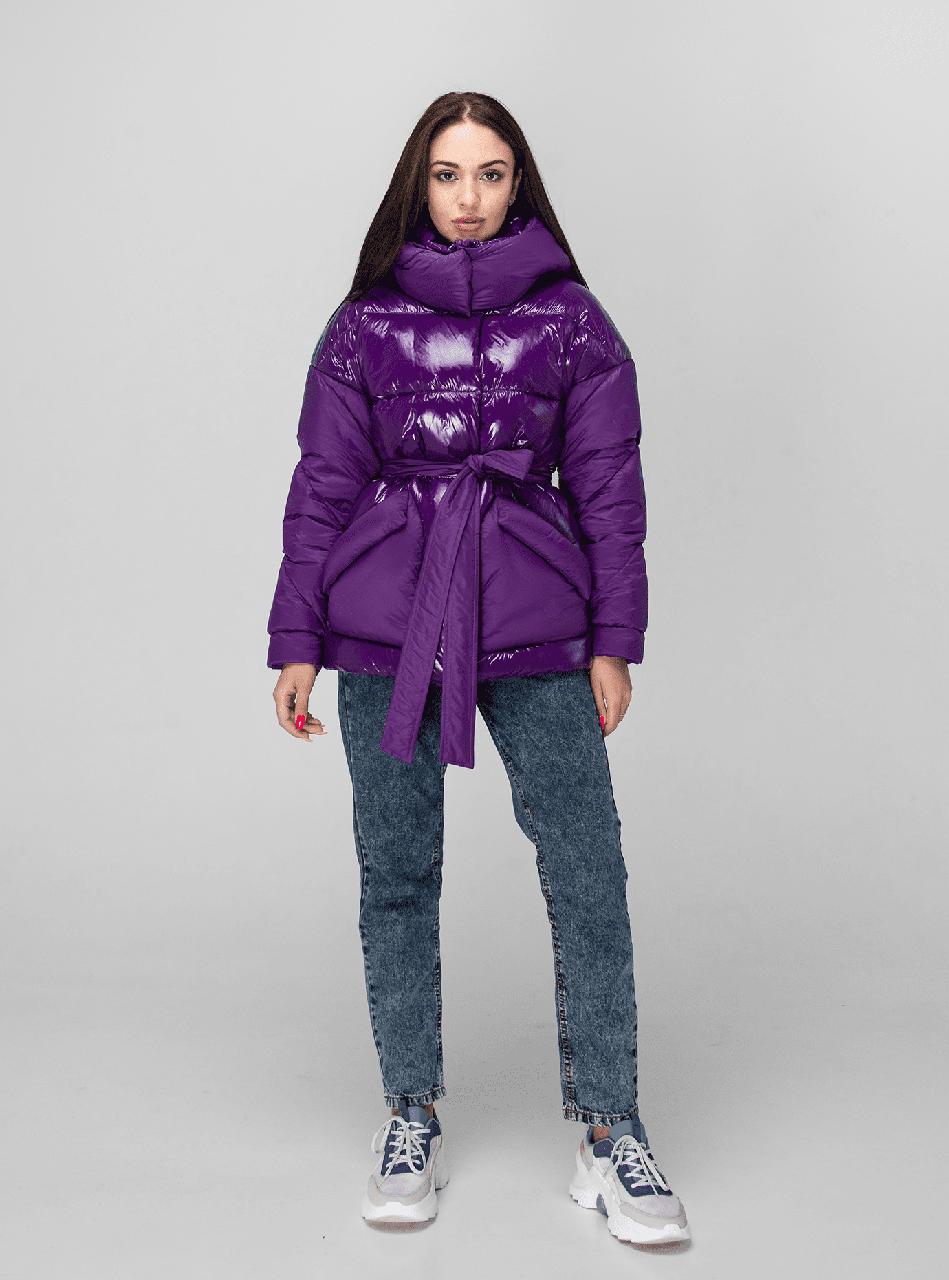 Женская зимняя куртка KTL-352 сливовая