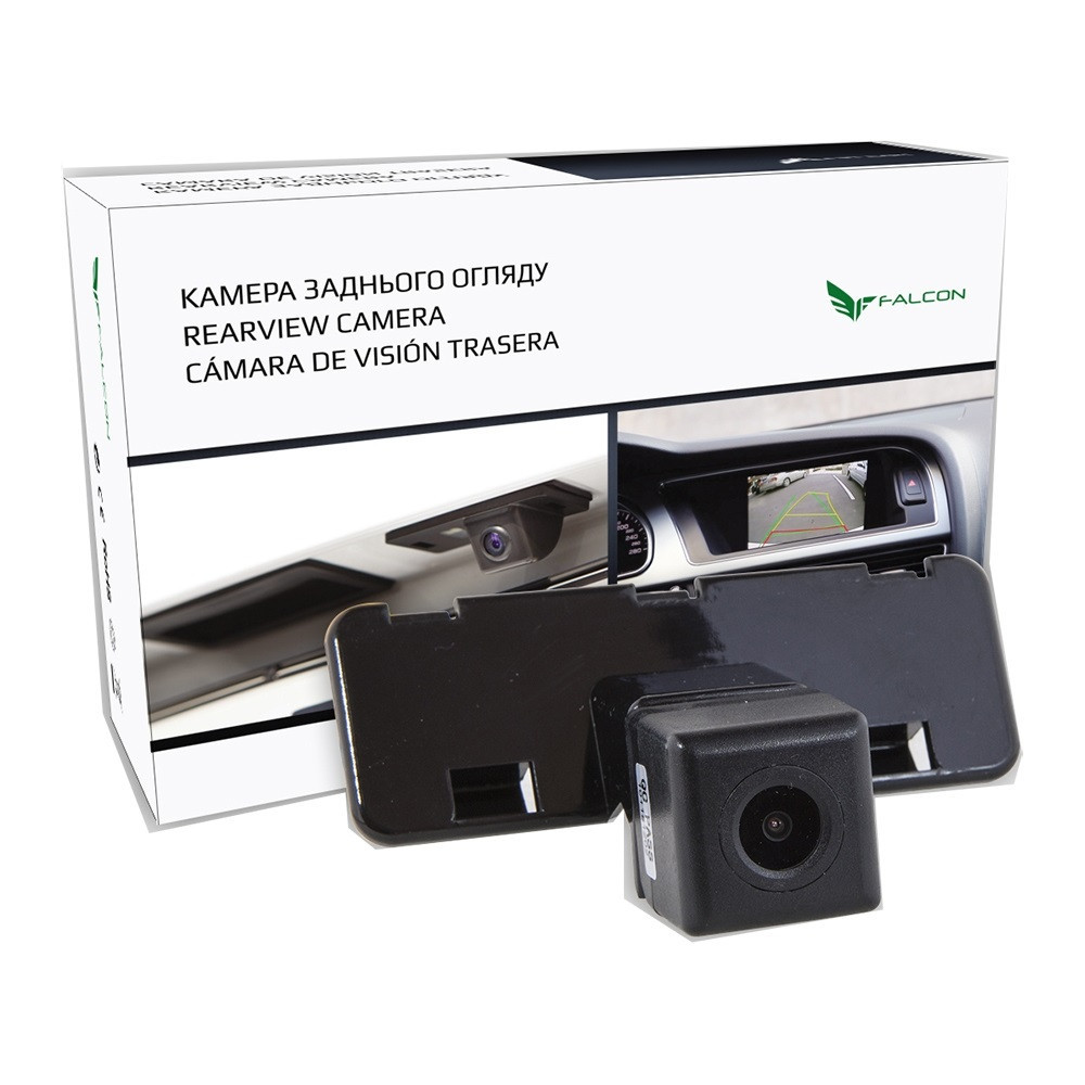Штатная камера заднего вида Falcon SC111-XCCD. Suzuki Swift 2004-2010